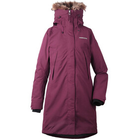 Didriksons 1913 Nadine Parka Women Wine Red